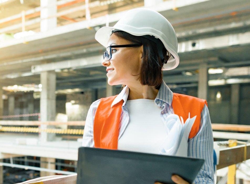 construction lady